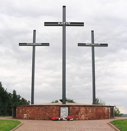Katyn-Kharkiv-Mednoye memorial