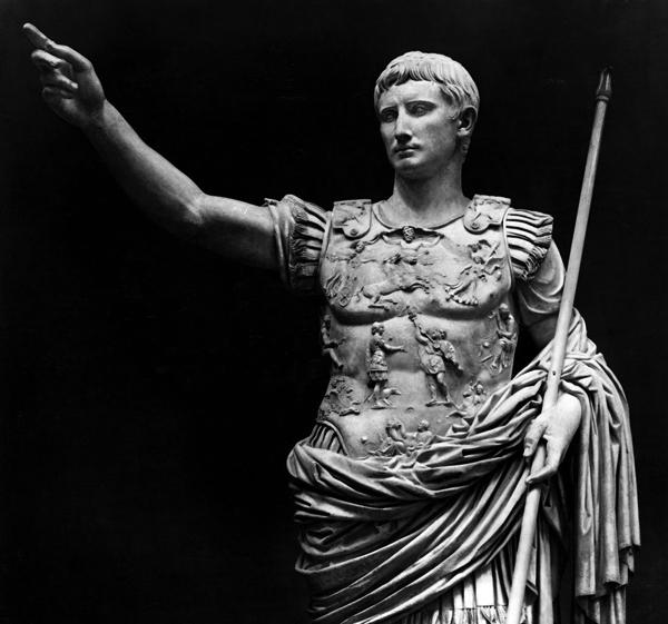 Roman Emperor Augustus