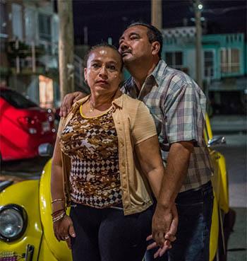 Vicky Delgadillo and Carlos Saldana