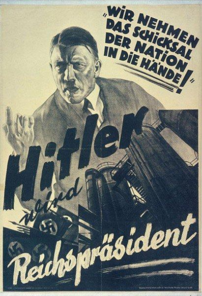 nazi propoganda poster