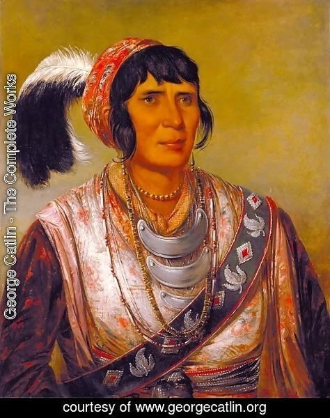 Seminole-Chief-Osceola by George Catlin