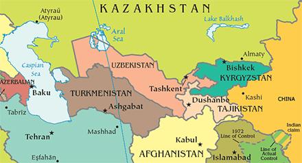 tajikistan-asia-map