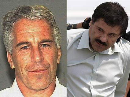 Jeffery Epstein and El Chapo