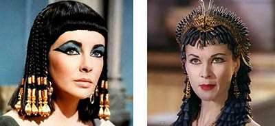 cleopatra-Liz Taylor - Vivien leigh