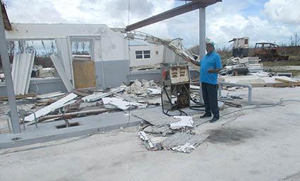 Bahamas-gas station